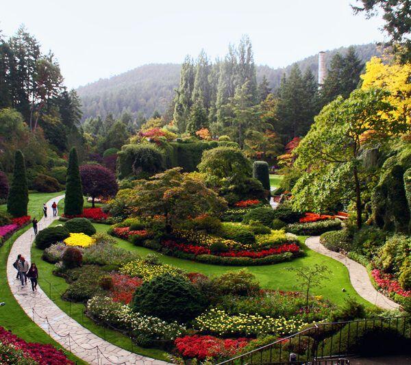 The Butchart Gardens, Vancouver
